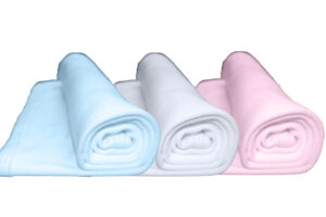 Baby Blankets - Double Layer (6 pack) - from £4.80 per unit